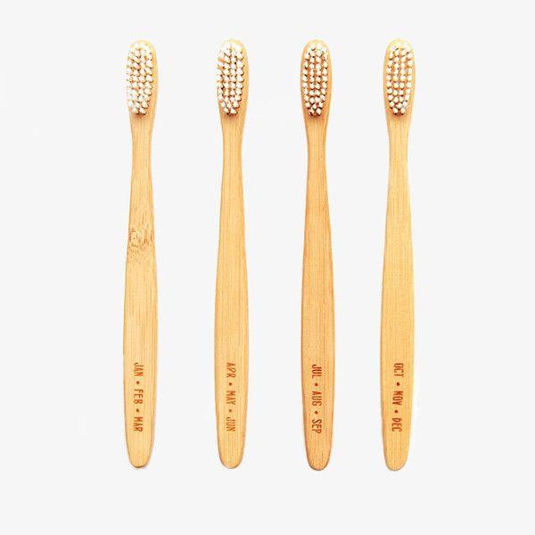 Bamboo Toothbrush Set, from Poketo shop.