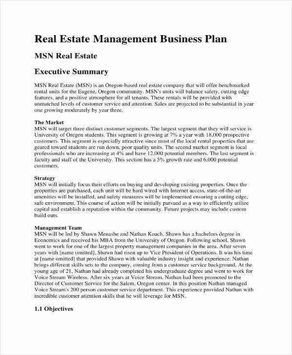 30 Realtor Business Plan Template In 2020 Marketing Plan