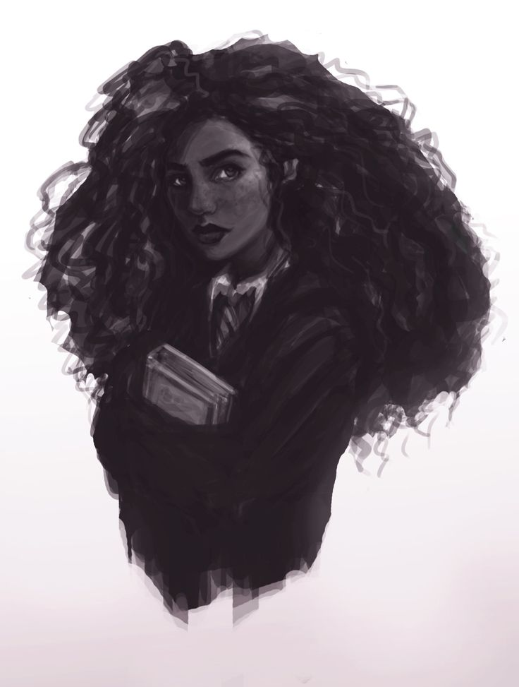 Hermione - art by aeyon on Tumblr.