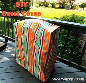 DIY BBQ Grill Cover...perfect! I'd rather not pay $59 for a grill cover