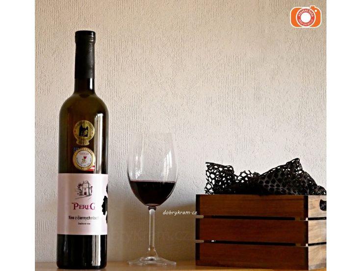 Vynikající víno z černého rybízu Pereg