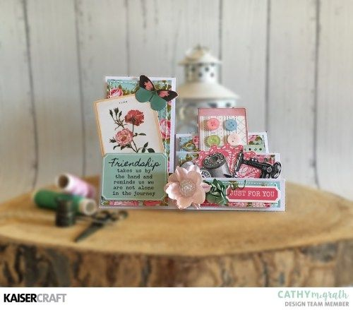"Hand Made Card Inspiration featuring ""Miss Betty"" and ""Beach Shack"""