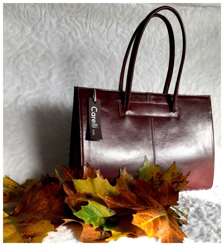 Carelli Italia Roma cognac Prachtige lederen aktetas van Italiaans design...zo ga je elegant de herfst in!