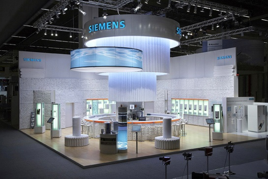 Exhibition Booth Budget : Siemens stand budget bigger than mine messestand