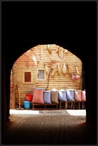 Arrivée chez l'Herboriste Des Amis, Marrakech.