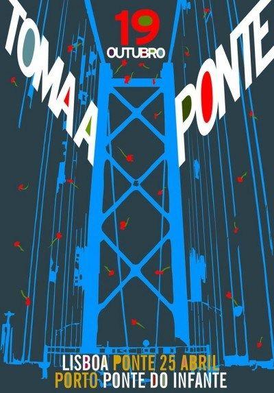 Governo não autoriza manifestação na ponte 25 de Abril, CGTP mantém-se irredutível - Ironia d'Estado