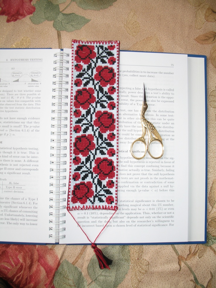 bookmark 2 (Ukrainian embroidery)