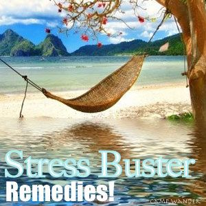 Stress Buster Remedies!  For Head, Shoulder/Neck and Stomach Discomfort