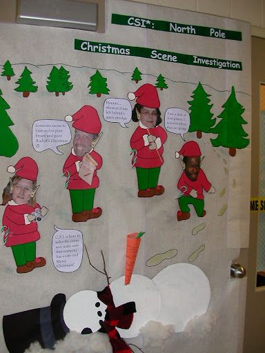 Classroom Xmas Decor ~ Best images about christmas door decoration on