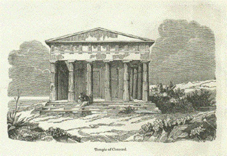 Il Tempio della Concordia ad Agrigento:indagine sulle origini del nome