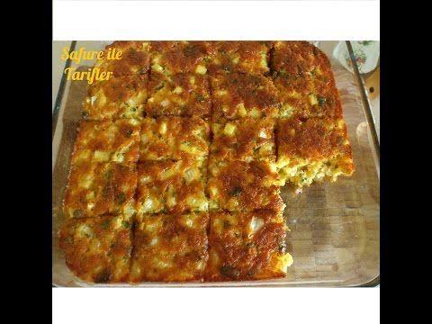 Nefiss Patatesli Tuzlu Kek Tarifi - Börekten Farksız Patatesli Kek Nasıl Yapılır - Kek Tarifleri - YouTube