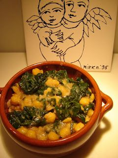 Cooking chickpeas Thermomixer: Spinach & Chickpeas in the Thermomix