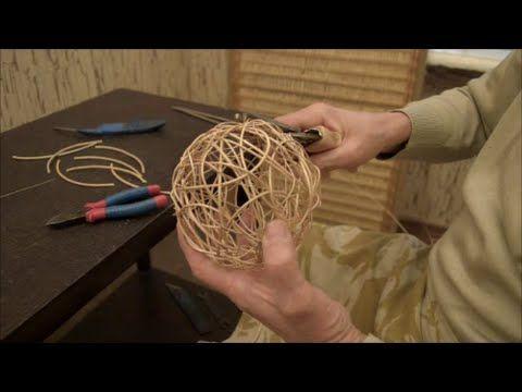 """Плетение из лозы-""""Воздушный шарик""""-Wickerwork"""