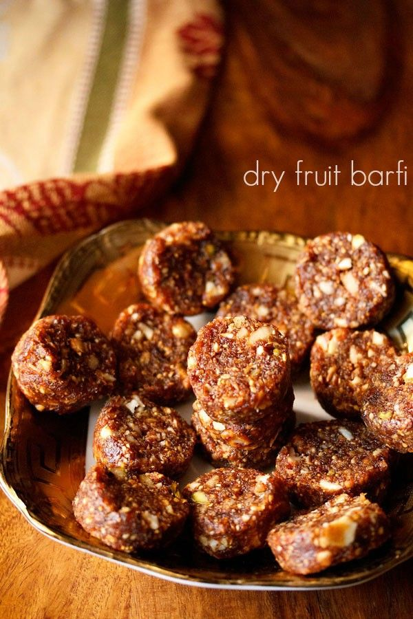 dry fruit barfi recipe with step by step photos - easy method and recipe of dry fruit barfi.