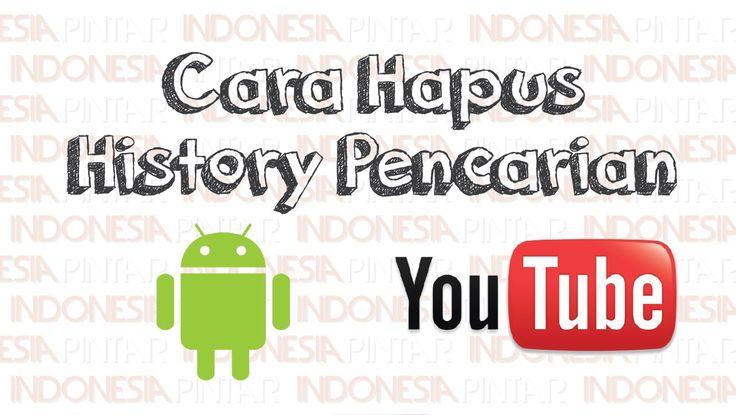 Cara menghapus riwayat (history) pencarian di aplikasi Youtube lewat HP #video #youtube #indonesia #indonesiapintar #android #history #smartphone #youtubehistory