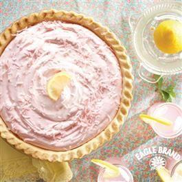 Pink Lemonade Pie from Eagle Brand® Sweetened Condensed Milk