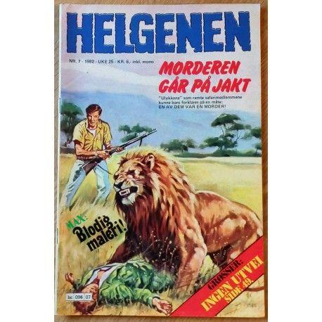Helgenen: 1982 - Nr. 7 - Morderen går på jakt