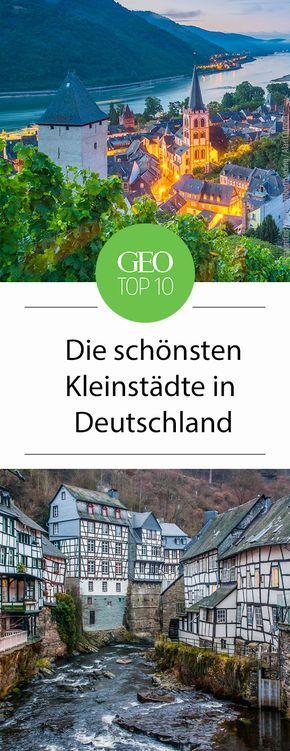 Die zehn schönsten Kleinstädte in Deutschland