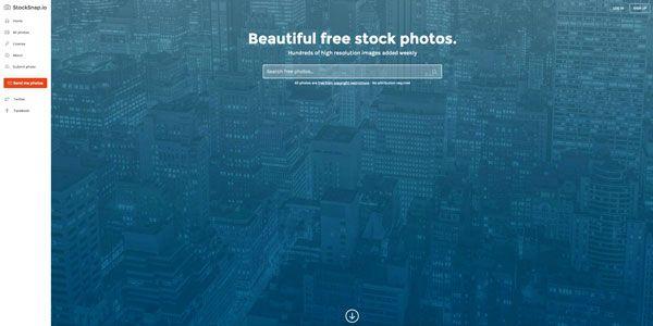 Stocksnap, une nouvelle banque d'images gratuites pour vos projets