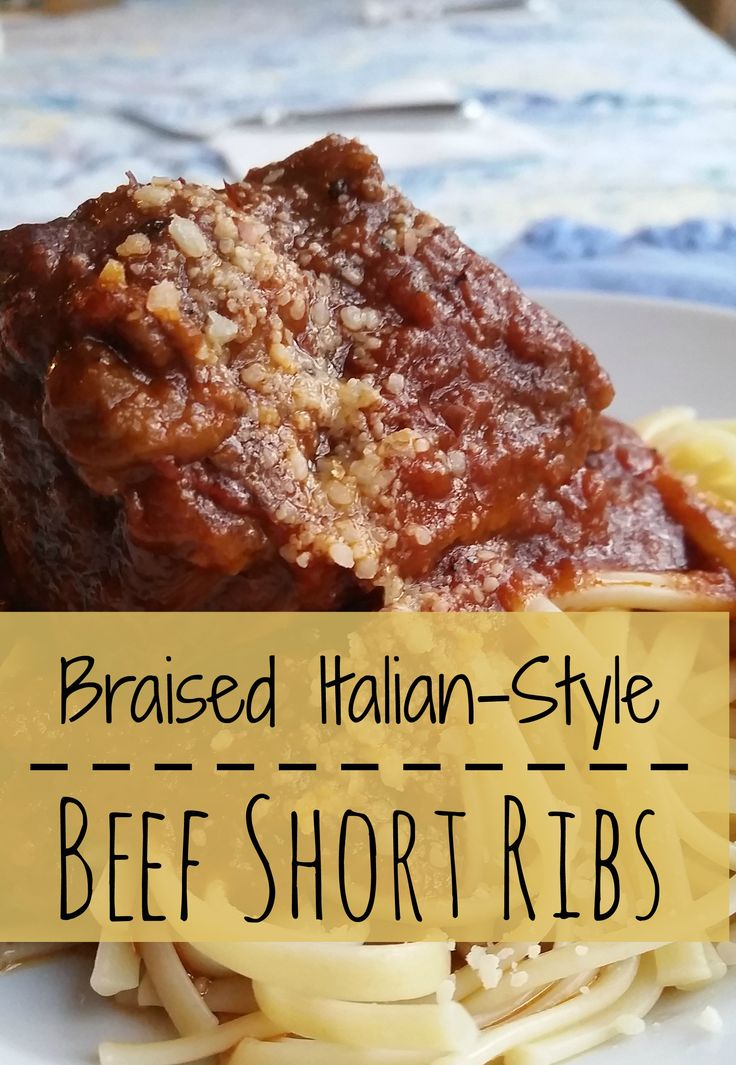 Braised Italian-Style Beef Short Ribs | Hardly A Goddess                                                                                                                                                                                 More