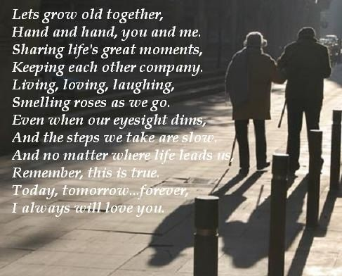 Grow old together quotes & inspiration Pinterest