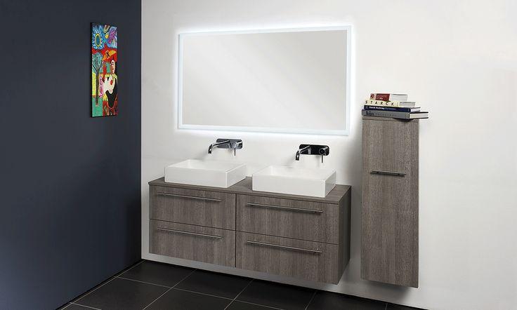 INK 50 TOPDECK alu keerlijst topdeck - keerlijst - spirit - porselein - badkamer - wastafel - ink - spiegelkast - badjas - sanibell - badmeubel - badkamermeubel - bliss elements