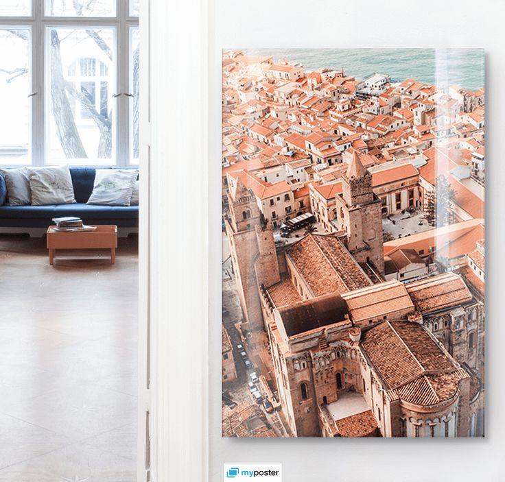 Traumhafter Blick auf dein Lieblingsmotiv - Foto hinter Acrylglas nach Maß bei @myposterGmbH. So geht Wanddeko ❤️