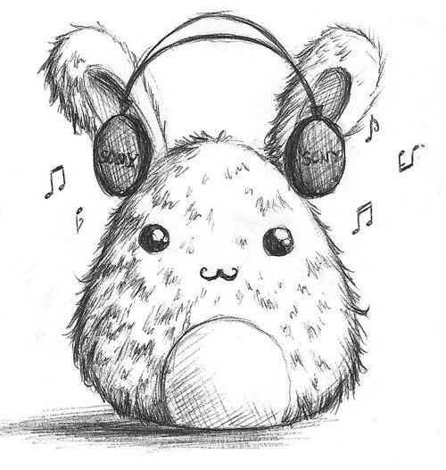 Music Bunny by B-Keks.deviantart.com on @deviantART