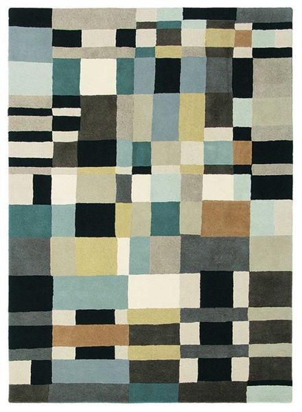 Enjoy the comfort and style of this beautiful wool rug: Brink & Campman Estella Domino 83904 Designer Wool Rug: Brink & Campman Estella Domino 83904 Designer Wool Rug