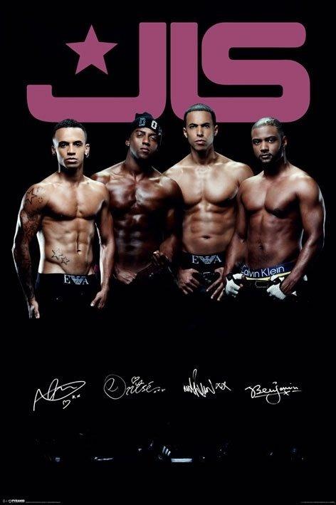 Pyramid International Maxi Poster - JLS (Topless) - MAXI POSTER - BunlardanIstiyorum.com