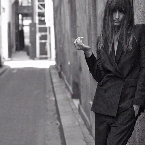 Love my gangsta suit by @blkdnm in the streets of Paris today ©Johan Lindeberg
