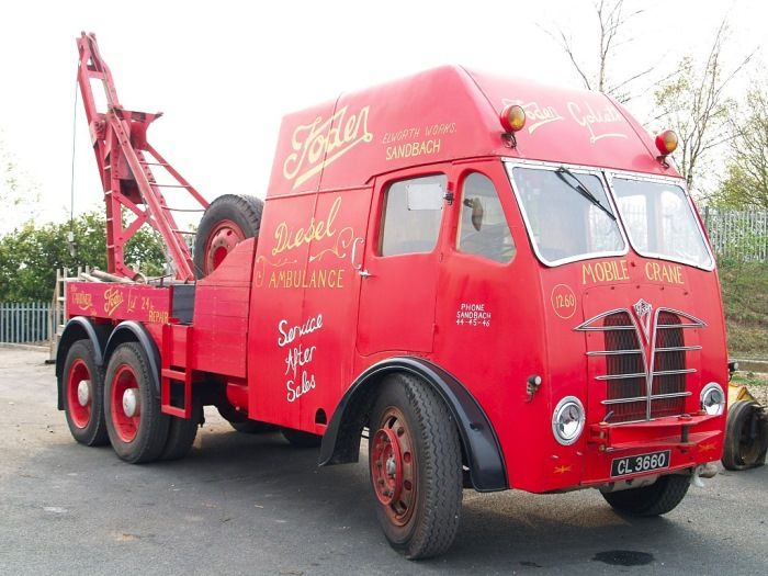 foden - Oldtime Tow Wrecker