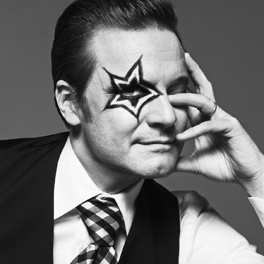 Colin Firth, 2011 by Inez & Vinoodh                                                                                                                                                                                 Plus