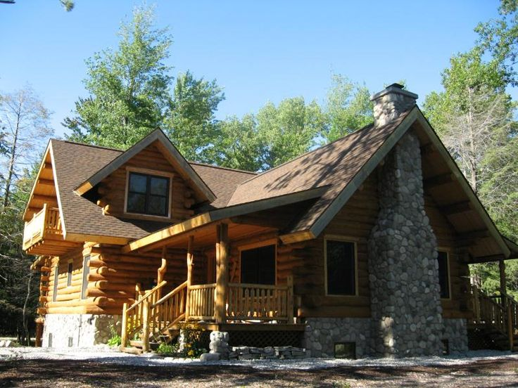 Thrilling Log House Wrap Around Deck Only $51,000 MUST SEE Interior & Floor Plans!