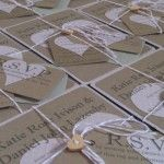 Only by Knight | Bespoke Wedding Stationery Design - Kraft style