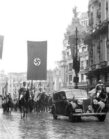 Nazis en Madrid.