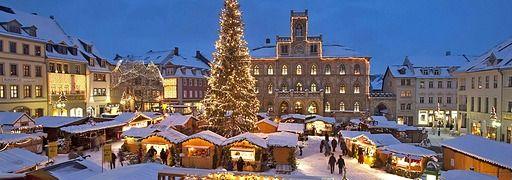 Der Weihnachtsmarkt in Weimar  | Rechte: IMAGO
