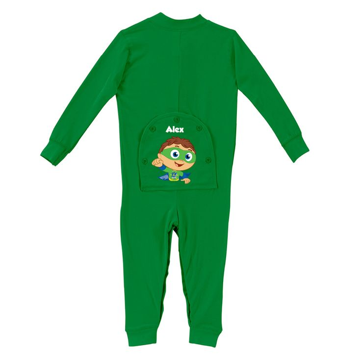 The Official PBS KIDS Shop | Super Why! Long Johns - Clearance