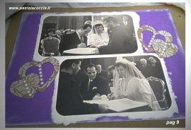#Album #di  #famiglia #Eumene & #Clara realizzato a mano con la tecnica dello #scrapbooking - PAG 9