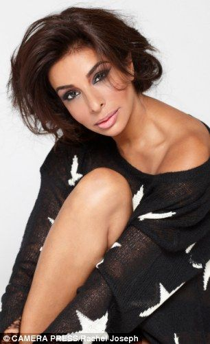 Life-long battle: Shobna Gulati's hair started falling out after her father died when she was 19