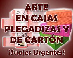 ARTE EN CAJAS PLEGADIZAS Y DE CARTON www.cajasplegladizas.mpw.mx