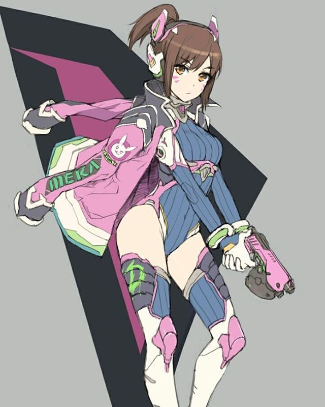 Overwatch - Anime D.Va