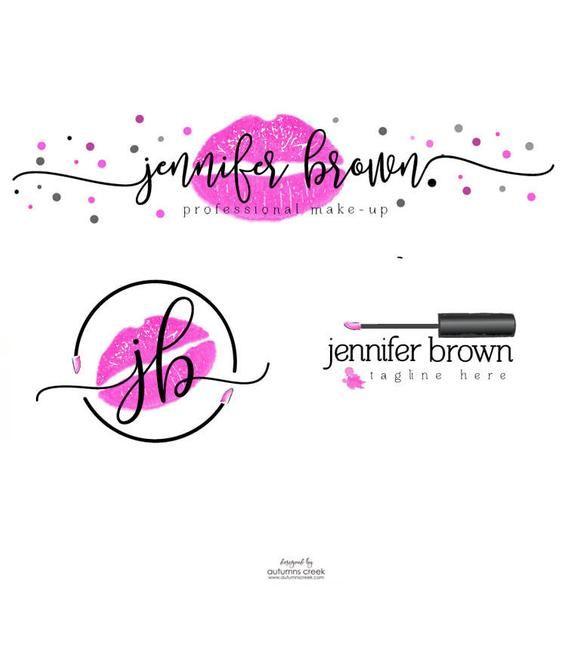 Lipstick Logo Lipgloss Logo Makeup Artist Logo Make Up Logo Lips Logo Premade Logo Designs Beauty Branding Makeup Artist Logo Lip Logo Makeup Logo Design