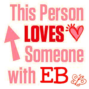 I support Awareness and Research for Epidermolysis Bullosa