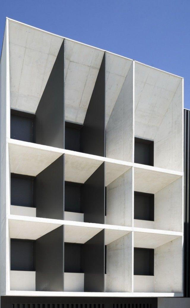NUEVO EDIFICIO EN EL Redin HIGH SCHOOL  Otxotorena Arquitectos