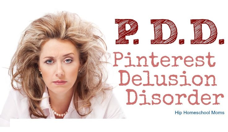 Pinterest Delusion Disorder (PDD) - A serious disease in which moms start thinking they are failures for not (1) arranging their kids' food in cool shapes for every meal, (2) not DIYing every piece of furniture and art in their homes, and (3) not spending hours designing homemade printables for their children. Sound familiar? Pinterest …