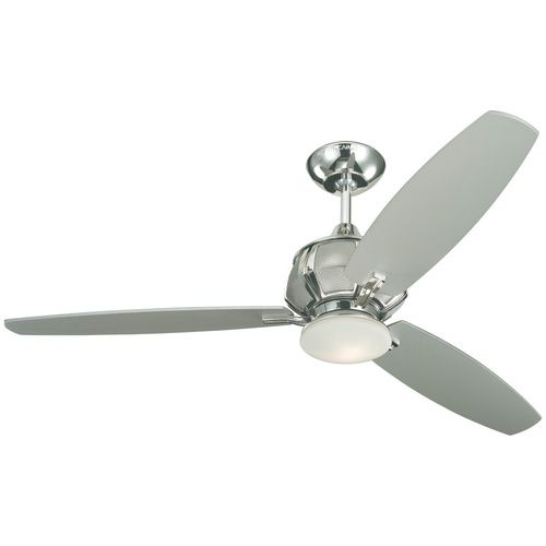 Monte Carlo Fan M3ACR52PND Acura Large Fan (52'' and Larger) Ceiling Fan - Polished Nickel at Ferguson.com