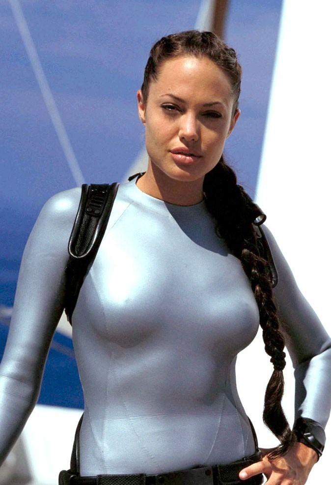 As Angelina lara croft jolie