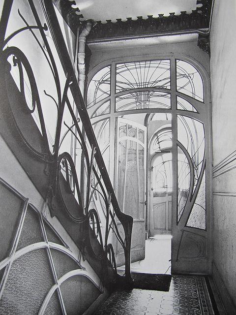 Maison Coilliot (1898-1900), Hector Guimard - 14 rue de Fleurus, Lille (59)