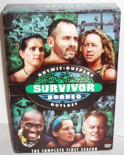Survivor - Borneo: The Complete First Season (DVD, 2004, 5-Disc Set, Checkpoint)